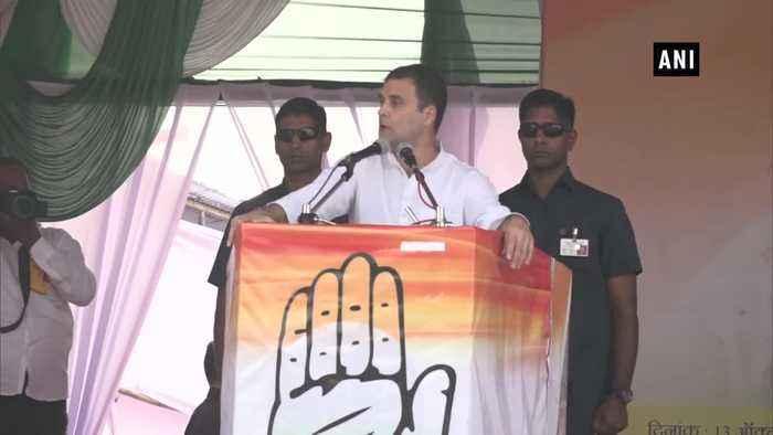 Sending rocket to moon wont feed country youth Rahul gandhi tells PM Modi