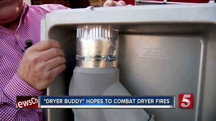 Hopkinsville man creates product that cleans lint in hopes of combating dryer fires