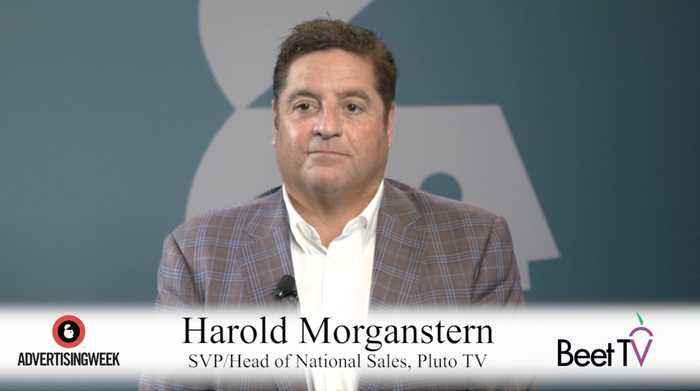 Streaming Is in the Age of Acceleration: Pluto TV's Morganstern