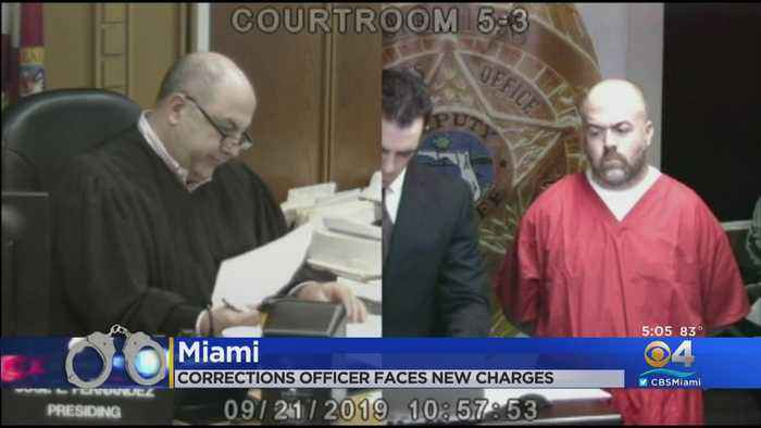 New Charges For Miami-Dade Corrections Officer Accused Of Rape