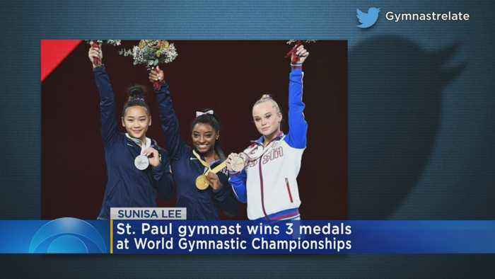 St. Paul Gymnast Wins 3 Medals At World Gymnastic Championships