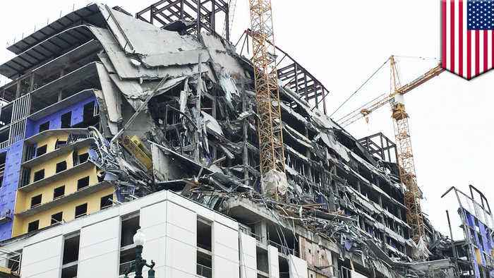 Hard Rock Hotel collapse in New Orleans leaves 2 dead, 1 missing