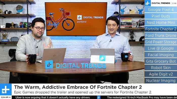 Digital Trends Live - 10.15.19 - Hands On The Pixel 4 + Fornite Chapter 2 Gameplay