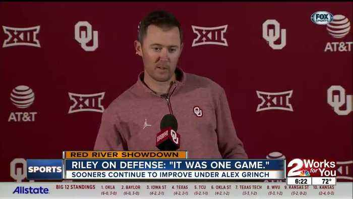 Lincoln Riley Talks OU Defense