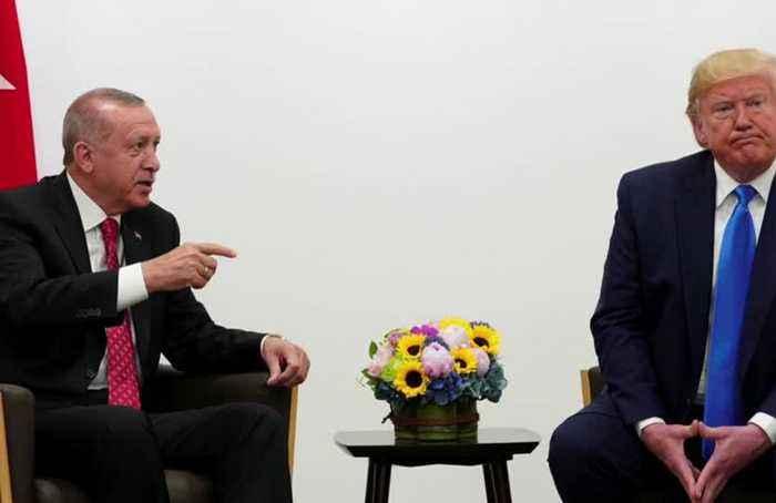 Scrambling, Trump tells Turkey to stop Syria invasion
