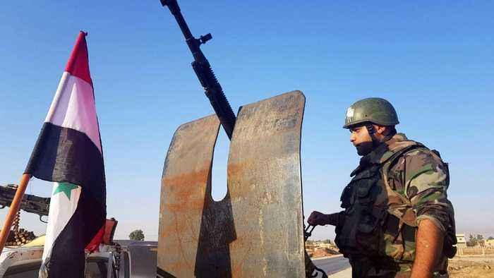 Syrian government forces enter Manbij