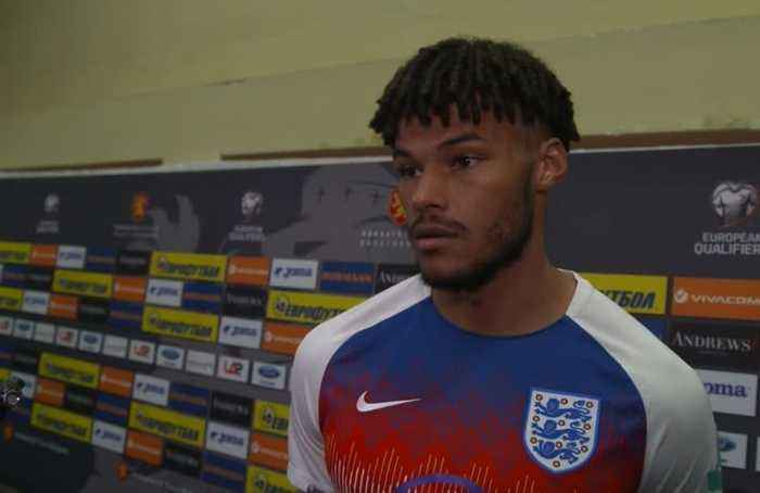 I heard it during the warm-up, says England player Tyrone Mings on racist abuse