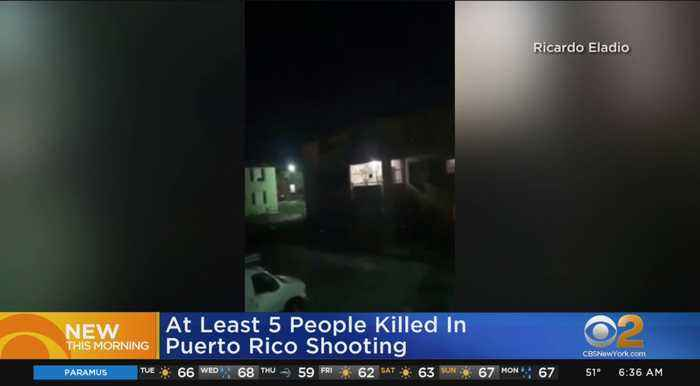 Deadly Mass Shooting Reported In Puerto Rico