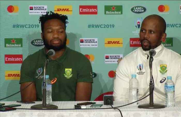 Springboks not underestimating Brave Blossoms in World Cup quarter-final showdown