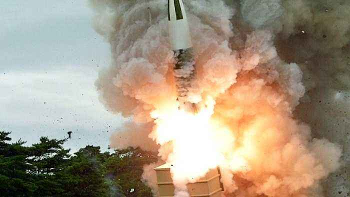 Seoul showcases new weapons to world