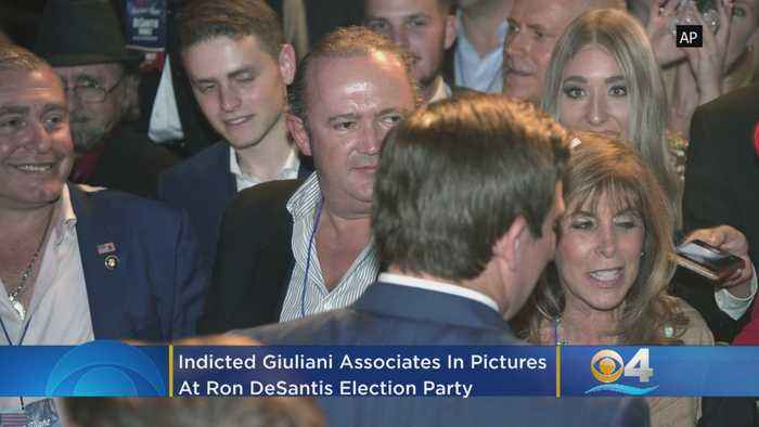 Indicted Giuliani Associates In Pictures With Florida Governor Ron DeSantis At Election Party