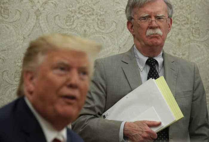 Trump Thinks John Bolton Is Behind Some Ukraine Leaks