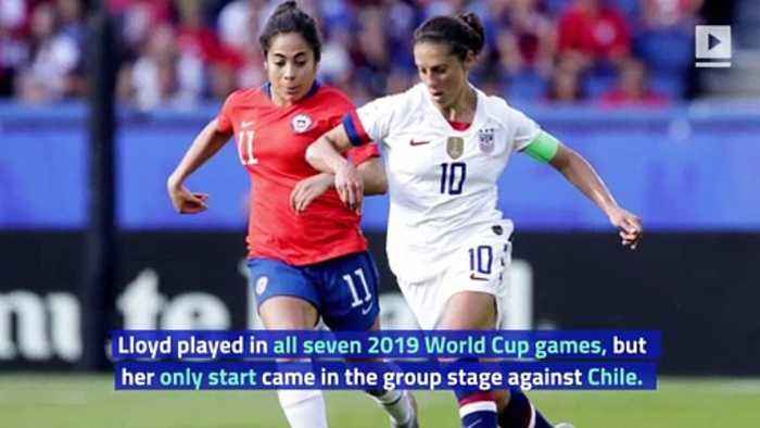 Carli Lloyd Says 2019 World Cup Was 'Worst Time of My Life'