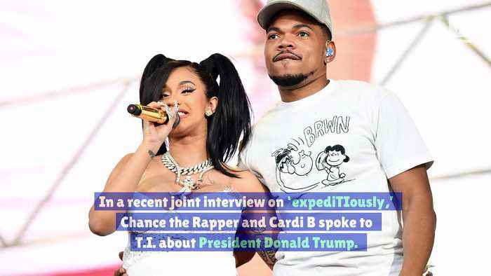Chance the Rapper and Cardi B Think Trump Will Win the 2020 Election