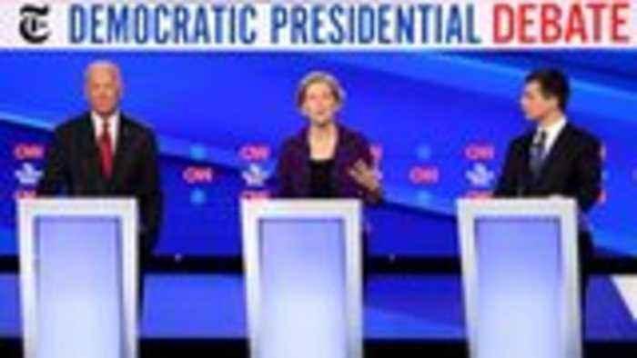Democratic Presidential Debate Ended With Ellen DeGeneres Question, Sparks Backlash | THR News