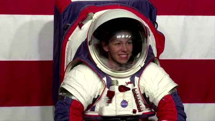 NASA unveils new spacesuits for moon mission