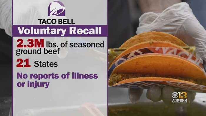 Taco Bell Recalls Seasoned Beef In Numerous States, Including Maryland