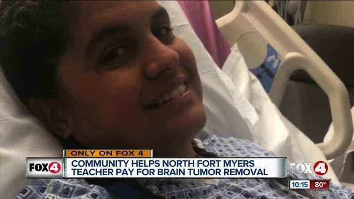 Support pouring in for North Fort Myers teacher that underwent emergency brain surgery