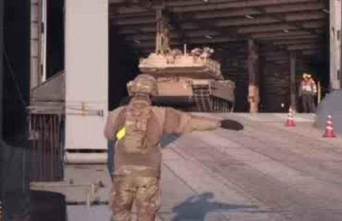 U.S. troops arrive in Baltics in fresh signal to Russia