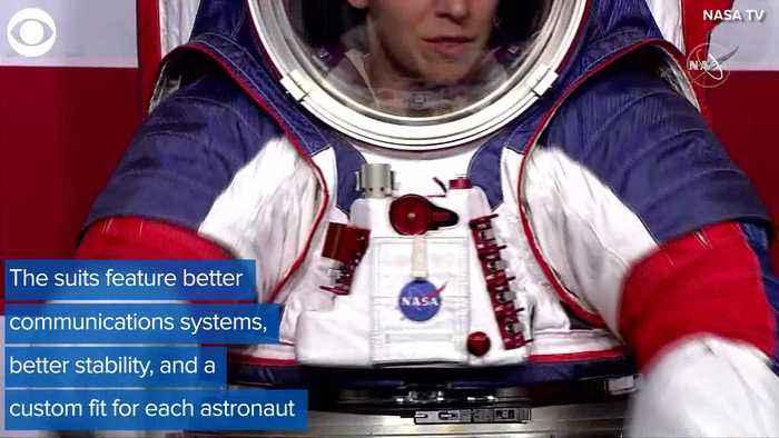 NASA Unveils New Spacesuit