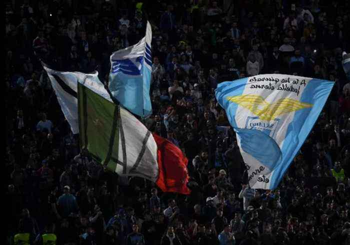 Lazio handed partial stadium ban for fans' racist behaviour