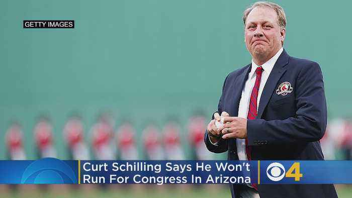 Curt Schilling Won't Run For Congress In Arizona