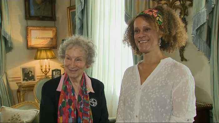 Duchess Of Cornwall Meets Margaret Atwood And Bernardine Evaristo
