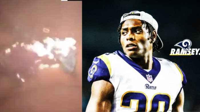 Jaguar Fans BURN Jalen Ramsey Jerseys & React To The Cornerback Being Traded To LA Rams!