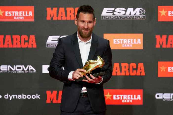 Lionel Messi Wins Record Sixth Golden Shoe