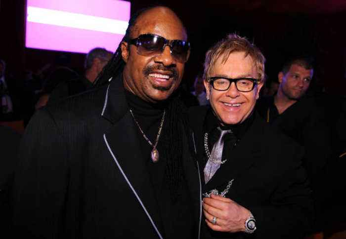 Elton John Let Stevie Wonder Drive a Snowmobile by Himself