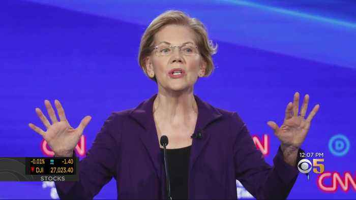 Other Democratic Candidates Target Front Runner Warren During Latest Debate
