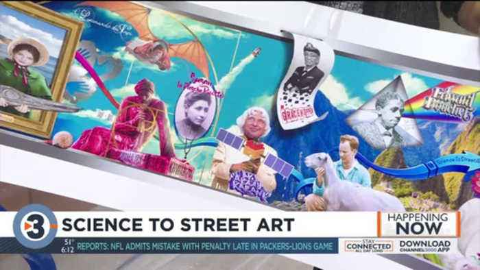 Science-themed murals to be painted around Madison for Science to Street Art project