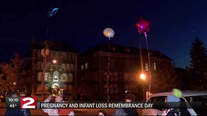 Infant and child loss remembrance day.
