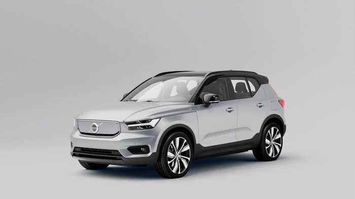 Volvo XC40 Recharge Powertrain Animation
