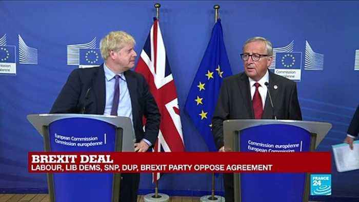 Brexit Deal: Boris Johnson, Jean-Claude Juncker hold press conference