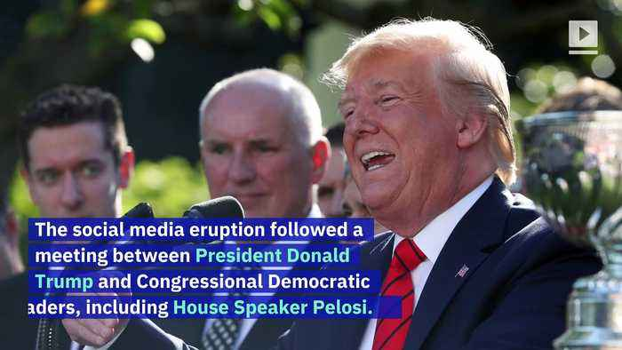#PelosiOwnsTrump Trends Following Trump's 'Nervous Nancy' Tweet