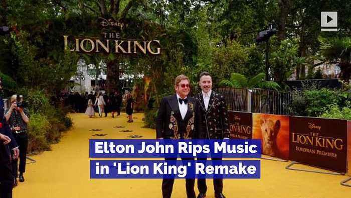 Elton John Rips Music in 'Lion King' Remake
