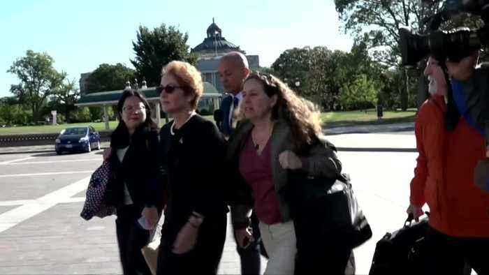 Ex-aide to Pompeo testifies in impeachment probe