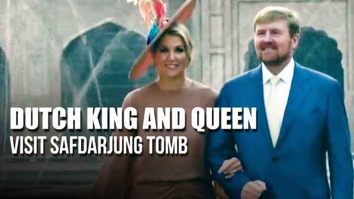 Dutch King and Queen visit Safdarjung Tomb, wrap up Delhi leg