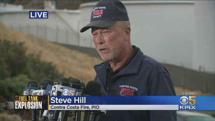 Contra Costa Fire's Steve HIll Provides Update On NuStar Fire Investigation