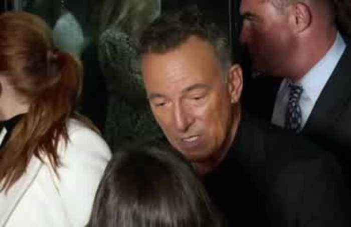 'The Boss' Springsteen Showcases New Film