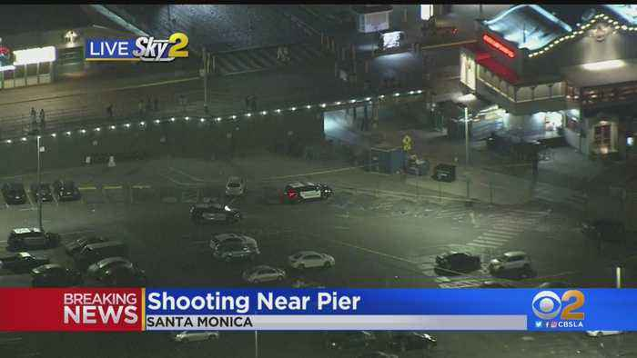 Man Wounded In Shooting At Santa Monica Pier