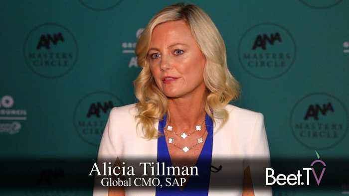SAP's Tillman Has Fun Finding Influencers Through TV