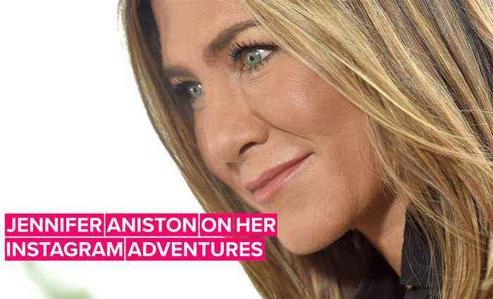Jennifer Aniston tells Jimmy Kimmel exactly why she joined Instagram