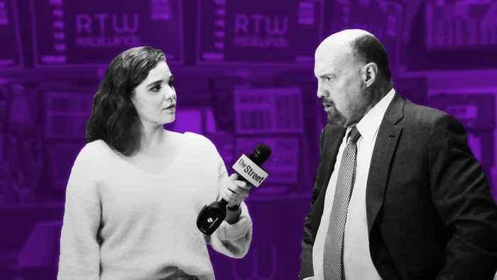 Jim Cramer on Larry Kudlow, Marc Benioff and Netflix's Earnings