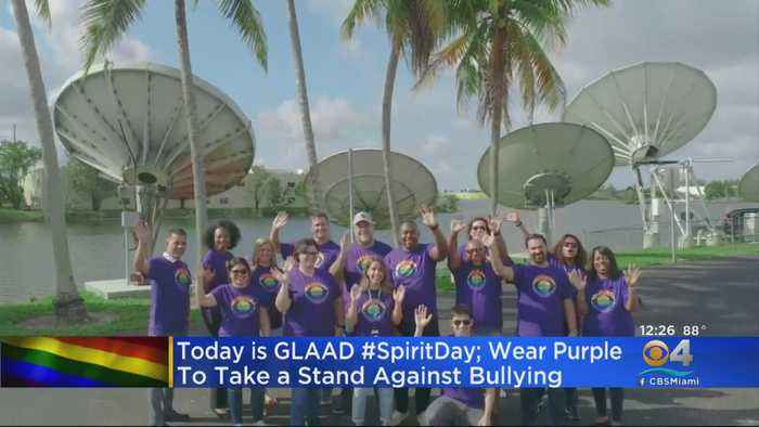 Wearing Purple For A Good Cause