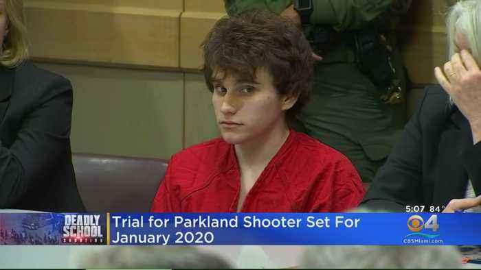 Trial For Parkland Shooter Set For Jan. 2020