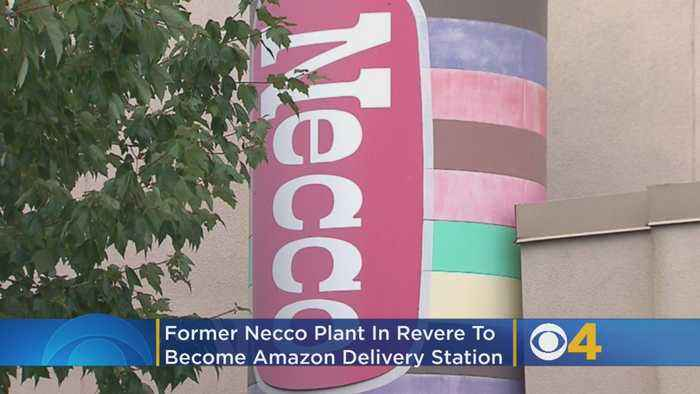 Former Necco Plant In Revere To Become Amazon Delivery Station