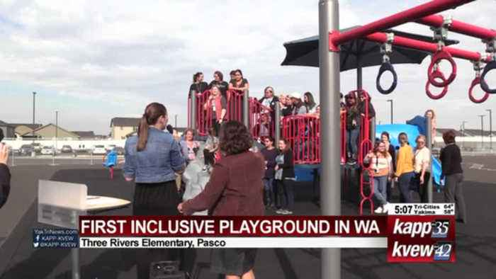 First Inclusive K-6 Playground