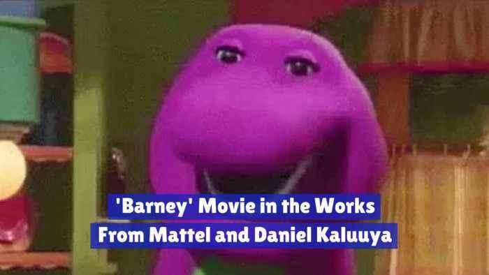 Daniel Kaluuya Works On A 'Barney' Movie